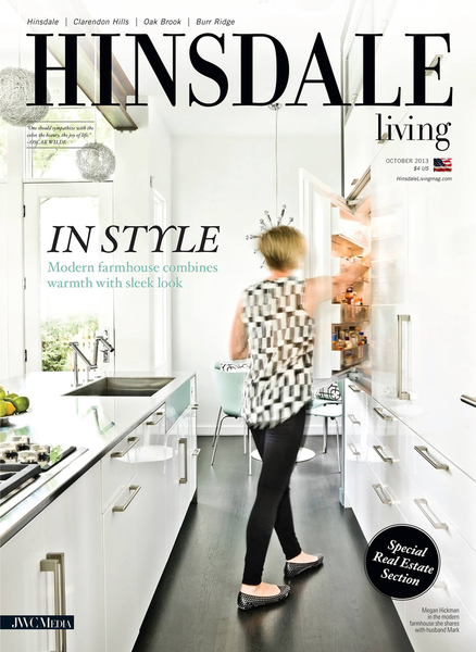 Cover - Hinsdale Living Magazine