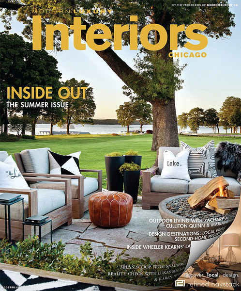 Cover - Interiors Chicago Summer 2014 issue