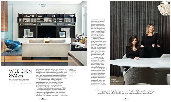 CS Magazine - home feature + portrait