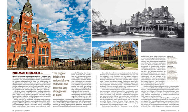 Preservation Magazine - Company Towns feature